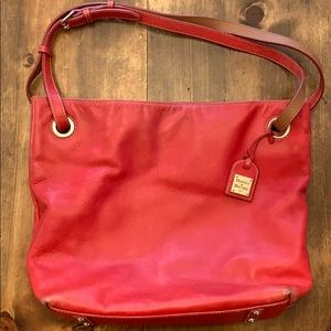 Dooney & Bourke Red Leather Purse